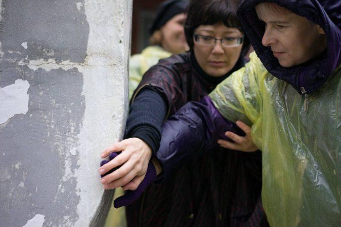 """Перформанс """"Пролог к соприкосновению с работами Вадима Сидура"""""""