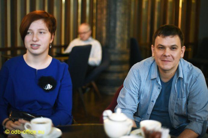 Юля Стефняк и Александр Сорокин