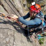 Инвалид-колясочник покорил 500-метровую скалу