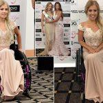 Девушка в инвалидном кресле приняла участие в конкурсе Miss World Australia