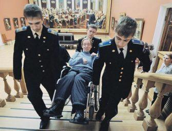 Большинство объектов культуры плохо приспособлено для инвалидов