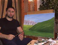 Художник и учитель из Назрани Адам Боголов организовал бесплатные занятия по живописи для детей с инвалидностью