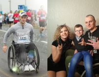 «Кто-то дает деньги, что очень раздражает». Виталий из Бреста о cпорте и семейной жизни в инвалидной коляске
