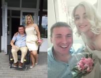 «Она пришла укол делать. И все. Я пропал». Как Сергей в инвалидной коляске и медсестра Маша создали семью