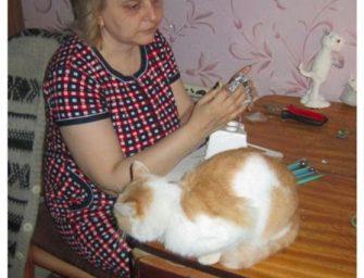 Незрячая мастерица Елена Леквинадзе «Куклы — существа одушевленные»